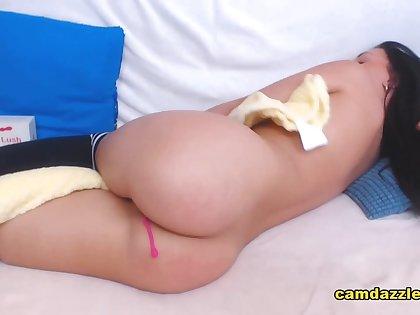 Sexy Brunette Babe Pleasure Rightfully Deserves
