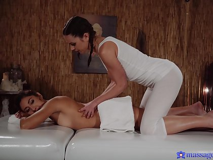Sensual women fix it to skip massage for nice softcore