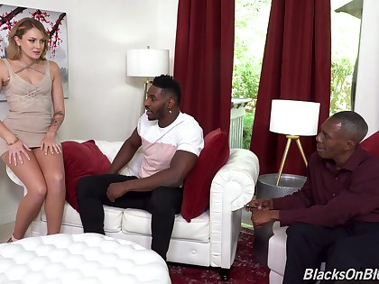 Anal not far from a handful of black dudes after she strips added to sucks their monsters