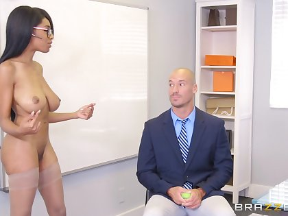 Brittney White does brilliant things in an office setting