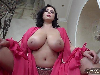 Ewa Sonnet - euro brunette mom prevalent big naturals solo & topless