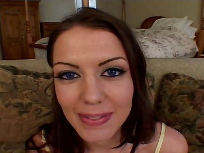 Blaue Augen, rote Haare, und verrueckt nach anal